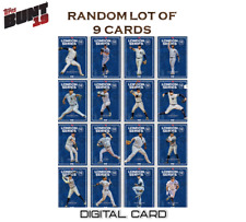 2019 LONDON SERIES NEW YORK YANKEES RANDOM LOT OF 9 CARDS Topps Bunt Digital