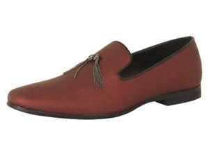 Giorgio Brutini Men's Crisp Red Smoking Loafers Shoes