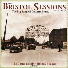 The Bristol Sessions: The Big Bang of Country Music 1927-1928 by Various Artists (CD, Mar-2011, 5 Discs, Bear Family Records (Germany))