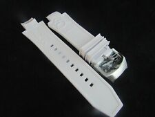 Invicta Subaqua Noma III Dragon Embose 28 mm White Replacement Poly Strap