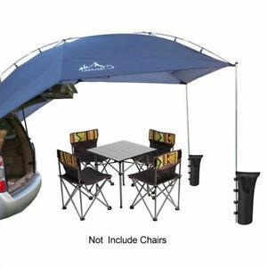SUV Camping Outdoor Car Truck Tent Rear Awning Sun Shelter Rainproof Canopy USA