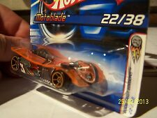 Hotwheels : Motorblade orange/chrome n° 022/J3263 - 2006 - Malaysia