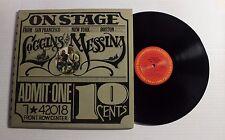 LOGGINS/ MESSINA On Stage LP Columbia PG-32848 US 1974 VG++ GOLD STAMP PROMO 00D