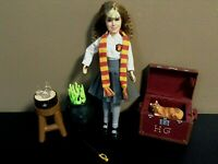 HARRY POTTER HERMIONE GRANGER DOLL The Sorcerer's Stone Cat Accessories 8""