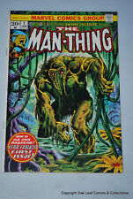 MAN-THING 1 Marvel Comic VF+ 2nd Appearance Howard The Duck! KEY!