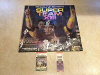Pittsburgh Steelers Super Team XIII RECORD SUPER BOWL TICKET Seahawks Patriots