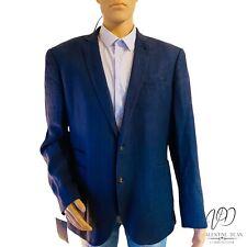Cedar Wood State Primark Men's Navy Tailored Fit Blazer Jacket 44-46 Uk