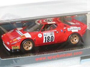 1/43 Lancia Stratos HF Chardonnet  Tour De France 1975 B.Darniche / A.Mahe