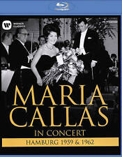 Maria Callas Hamburg Concert 1959/1962 (Blu-ray) NEW/SEALED