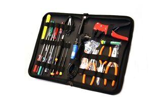 Werkzeug Set Computer PC Service Kit Toolkit Werkzeugtasche 18 tlg ZD906