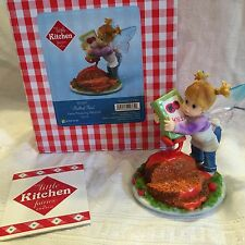 "My Little Kitchen Fairies ""MEATLOAF FAIRIE"" 2011 NIB"