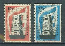 Briefmarken Niederlande 1956 Europa Mi.Nr.683+84