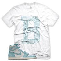 """New """"B"""" BLESSED T Shirt for Jordan Retro 1 Turbo Green"""