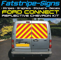 FORD CONNECT REFLECTIVE CHEVRONS KIT VINYL SWB MWB LWB VAN GRAPHICS STICKERS ST
