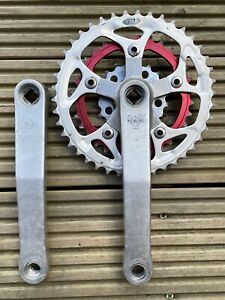 WHITE INDUSTRIES by SUGINO Crankset - 175mm - Square Taper - Retro Mountain Bike