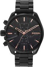 Diesel Men's DZ4524 MS9 48mm Black Dial Stainless Steel Watch