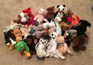 TY Beanie Babies LOT x 25 RETIRED RARE w/ Osito New With Tags Nwt Originals (W4)