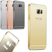 Coque Bumper Metal Samsung Galaxy S6 Edge Plus Etui Housse Anti Choc Miroir Linc