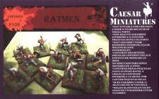 CAESAR MINIATURES 1/72 F108 RATMEN 39 Fantasy Unpainted Figures FREE SHIP