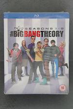 BLU-RAY Box Set The Big Bang Theory Seasons 1-9 ENGLISCH NEU OVP