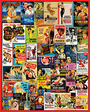 MOVIE POSTERS 1000 PIECE JIGSAW PUZZLE BRAND NEW SEALED Vintage Classic