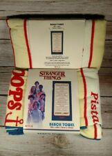 "TWO STRANGER THINGS Netflix BEACH TOWEL 30"" x 60"" Collectable New"