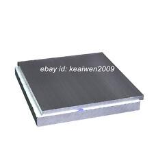 300x300x3mm ALUMINUM 6061 Flat Bar Solid Plate Sheet 3mm Thick Cut Mill Stock