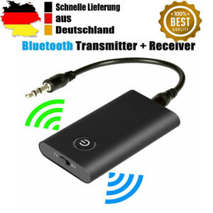Bluetooth 5.0 Musik Stereo Sender Receiver Audio Transmitter Adapter Empfänger