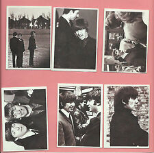 The Beatles, 1964 Topps, COMPLETE, Movie set (55), Hard Days Night, Clean