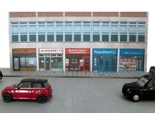 Kingsway, 00 scale, Modern High Street Shops, Kit build service.