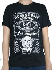 T-shirt GUNS N' ROSES Maglia Rock Band Registrata ed Approvata Music Maglietta