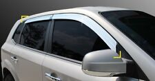 SAFE Chrome Window Sun Visor:4p Made in Korea for Hyundai TUCSON 04~09 K-634