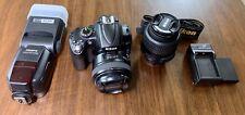 Nikon D5000 Digital SLR Camera with 18-55mm VR Lens - YONGNUO YN50mm F1.8N