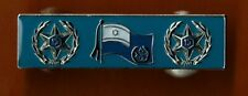 ISRAEL POLICE  HONORABLE MENTION OF THE  COMMISSIONER SITATION PIN BADGE
