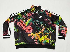 New Men's Nike Sportswear NSW Floral Print Full Zip Jacket AR1611-389 Sz XXL