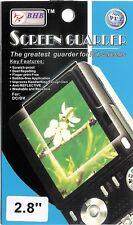 "Film Protège écran 2,8"" LCD Screen Guarder 5,8cm x 4,4cm Appareil photo caméra"