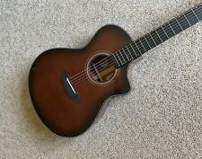 Breedlove Performer Concert Bourbon CE Acoustic Electric Guitar, w/gig bag