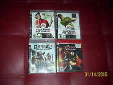PS3 games bundle call of juarez bound blood ninja gaiden sigme tiger woods 0910
