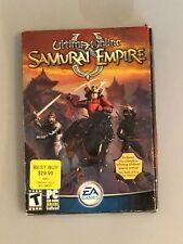 Ultima Online Samurai Empire (Pc, 2004) Game Manual and Picture.