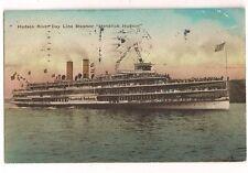 1928 Hudson River Day Line Steamer Hendrick Hudson Ship Boat Postcard
