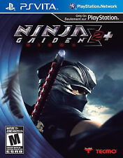 Ninja Gaiden Sigma 2 Plus (Sony PlayStation Vita, 2013)