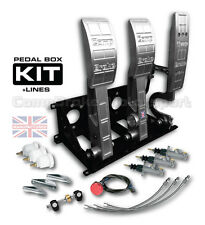UNIVERSAL PEDAL BOX  HYDRAULIC FLOOR MOUNTED BIAS PEDAL BOX INCLUDING KIT