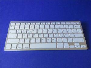 Design SILBER Wireless Bluetooth Tastatur Keyboard Handy Tablet Dt. Anleitung