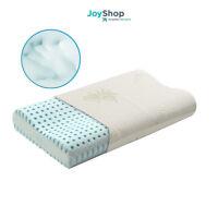 cuscino guanciale memory foam Blu saponetta o doppia onda cervicale Aloe vera