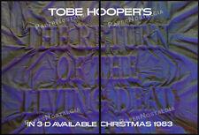 RETURN OF THE LIVING DEAD in 3D!__Orig. 1983 Trade AD promo/ poster__TOBE HOOPER