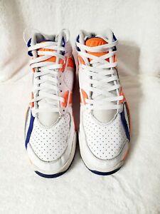 Nike Air Bo Jackson 302346-106 shoes men sz 9.5 white/orange/gray/blue