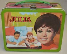 Vintage 1969 JULIA TV Show Diahann Carroll Nurse Metal Lunchbox C9 Minty Rare