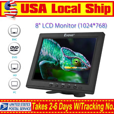 "S801H High Resolution HD 8""LCD Display Monitor VGA BNC Audio HDMI Input For PC"