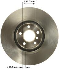 Bendix Premium Drum and Rotor PRT5084 Front Left Rotor
