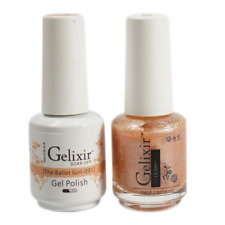 GELIXIR Soak Off Gel Polish Duo Set (Gel + Matching Lacquer) - 091